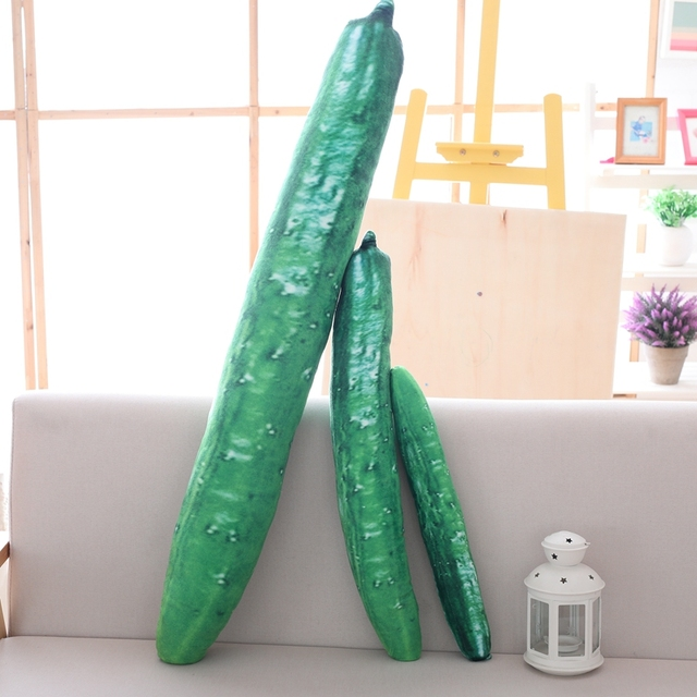 Cucumber Long Pillow
