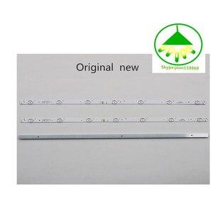 Image 3 - 6 pçs/set New100 % Lâmpada de retroiluminação LED tira para Skyworth 32E3000 5800 W32001 3P00 05 20024A 04A 7LED 605 milímetros