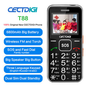 Image 2 - בכיר רוסית נייד טלפון 2G GSM ישנים הסלולר Bluetooth Dual SIM כרטיס SOS כפתור חזק לפיד FM זול טלפונים סלולרי