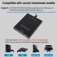 NEW Mouse Keyboard Converter Adapter for PS3 / PS4 / XBox 360 / XBox One / Xbox one S without Delay Compatible with all games