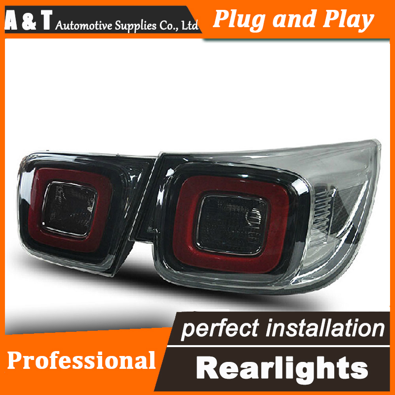 Car Styling LED Tail Lamp for Chevrolet Malibu Taillights Korea Style Rear Light DRL+Turn Signal+Brake+Reverse auto Accessories car styling led tail lamp for suzuki swift taillights 2005 2014 swift rear light drl turn signal brake reverse auto accessories