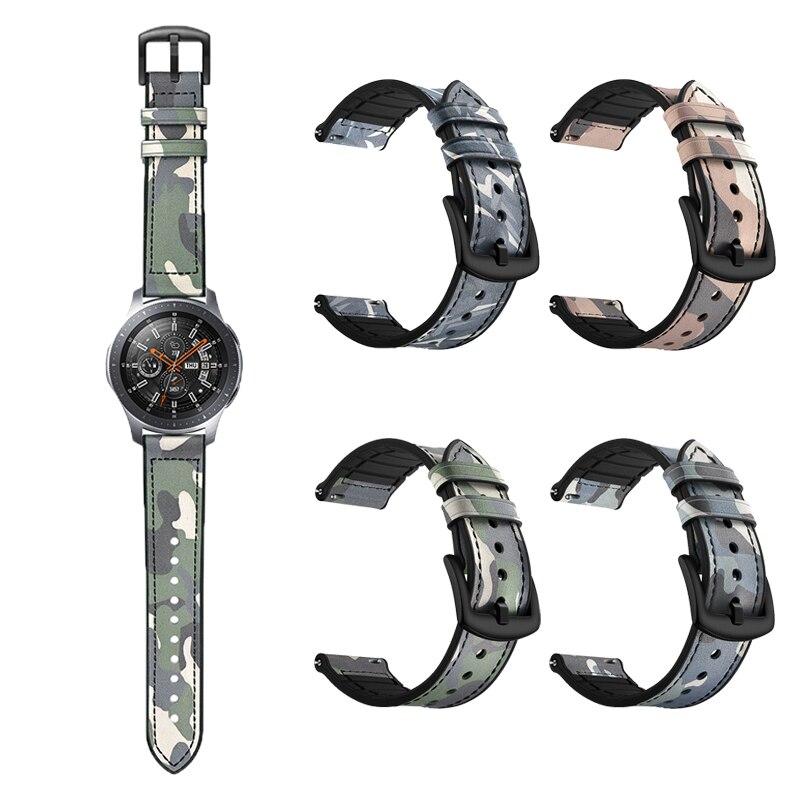 Новейший ремешок для часов Samsung Galaxy, ремешок для наручных часов из натуральной кожи с силиконовым ремешком для часов Gear S3, спортивные часы дл