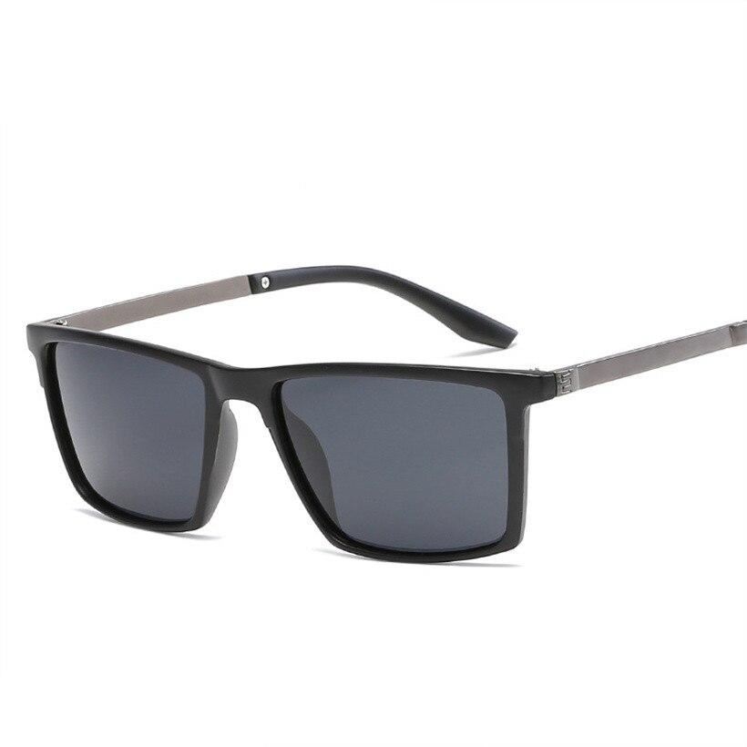 NYWOOH поляризационные Для мужчин солнцезащитные очки UV400 мужской классический вождения солнцезащитные очки прямоугольник Винтаж очки защит...