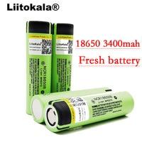 100 шт. оригинальный liitokala NCR18650B 3,7 В 3400 мАч 18650 3400 мАч литиевая аккумуляторная батарея