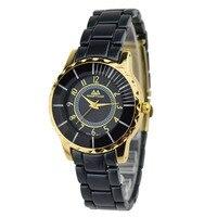 Luxury Brand Women S Wrist Watches Gold Plated Stainless Steel Ladies Quartz Watch Dress Watch Relogio