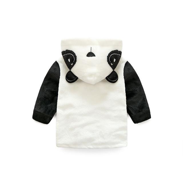 Children's Bathrobes Lovely Panda Bathrobe Kids Baby Boy&Girl Bath Robes Cotton Warm Pajamas Animal Kids Bath Robes
