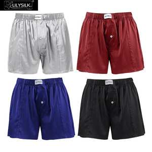 LilySilk Boxer Silk For Men 4 Pack Luxury Fitted Draping Free Shipping