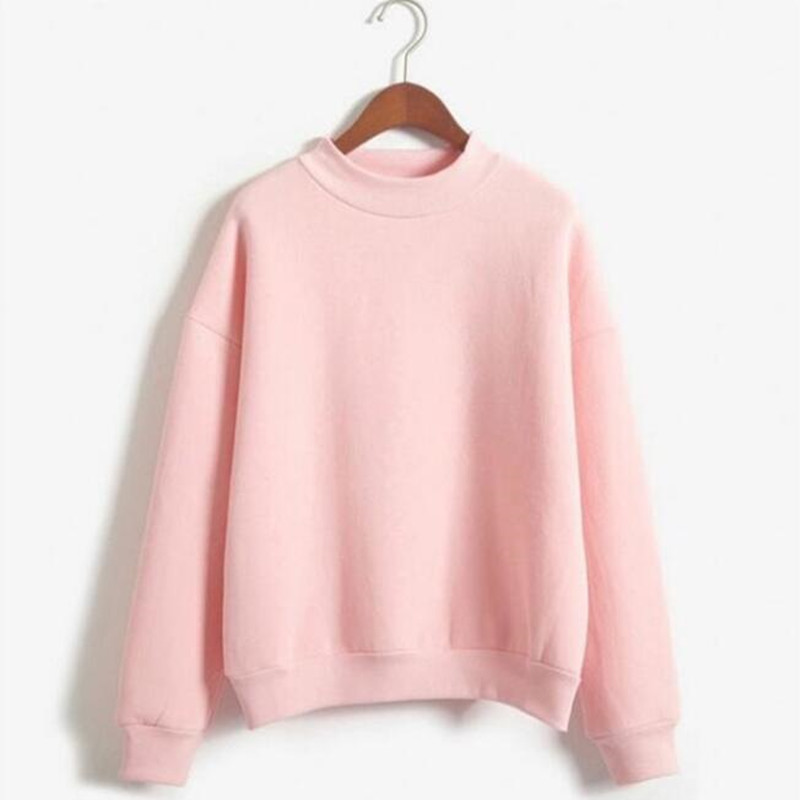 kawaii Women Hoodies Casual Sweatshirt Pullover Candy Hoodies Coat Jacket Outwear Tops American Apparel Autumn Winter
