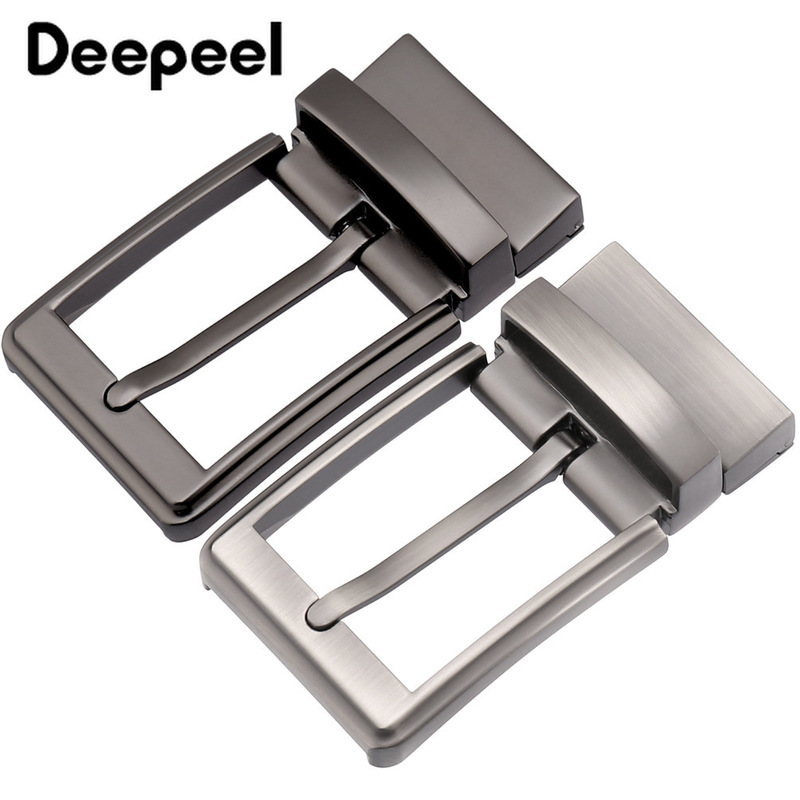 Deepeel Fashion Mens Belt Buckles Metal Pin Buckle For Belt 33-34mm Belt Head Boucle Ceinture DIY Leather Craft KY967