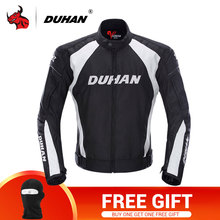DUHAN Men s Motorcycle Jacket Moto Windproof Racing Jacket Clothing Protective Gear With Five Protector Guards