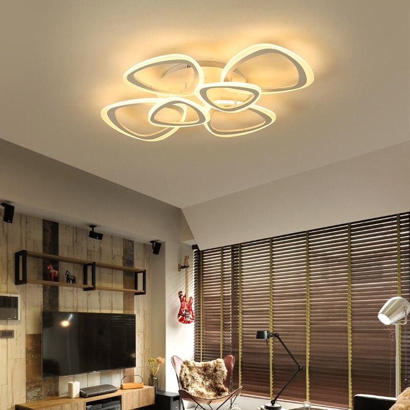 Creative Modern Acrylic Led Ceiling Lights Living Room
