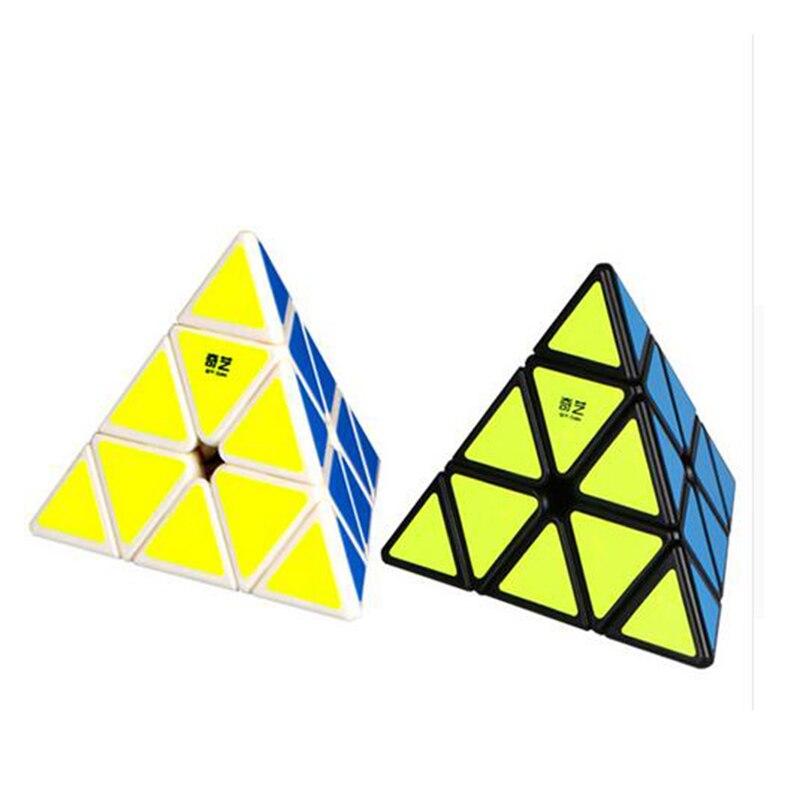 3X3X3 Triangle Pyramide Pyraminx Magic Cube Puzzle Vitesse Cubes Éducatifs enfants Jouet