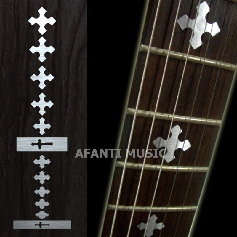 Afanti music Guitar Finger Board sticker / Shell sticker / cross Inlay (FPD-116)