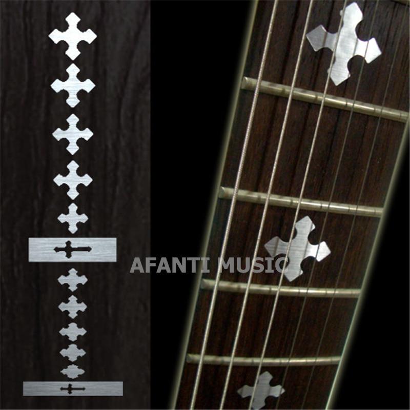 Afanti music Guitar Finger Board sticker / Shell sticker / cross Inlay (FPD-116)