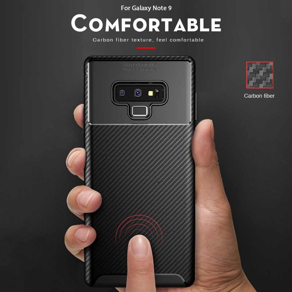 Caixa do telefone Para Samsung Galaxy A7 2018 Case Capa Original Para Samsung Nota 9 J4 J6 A6 A8 Plus J3 j7 2018 S9 Mais Capa de Silicone