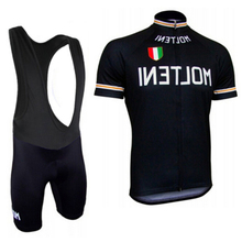 Ropa Ciclismo maillot Cycling Clothing blue gel padded Short Sleeves Hombre Cycling Jersey Bicicleta black with orange