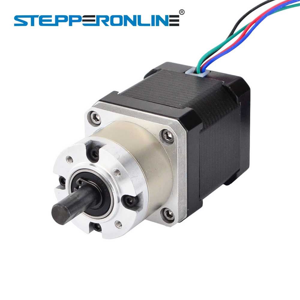 Nema 17 Stepper Motor 5:1 Planetary Gearbox High Torque Nema17 Geared Stepper Motor 1.68A DIY CNC 3D Printer