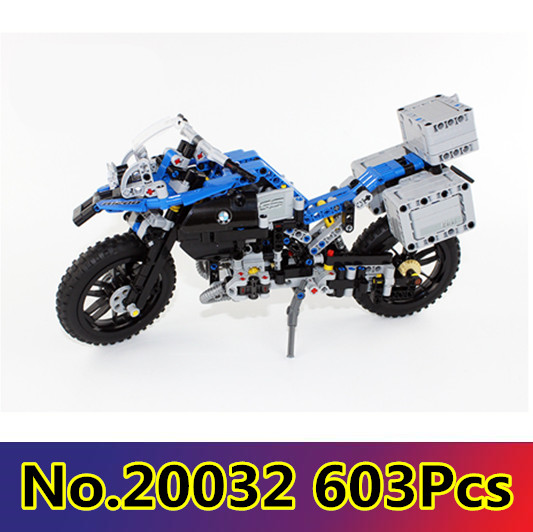 CX 20032 603Pcs Model building kits Compatible with <font><b>Lego</b></font> <font><b>42063</b></font> The Off-road Motorcycles 3D Bricks figure toys for children image