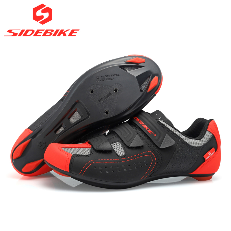 2019 sidebike road cycling shoes men racing road bike shoes self locking atop bicycle speakers athletic