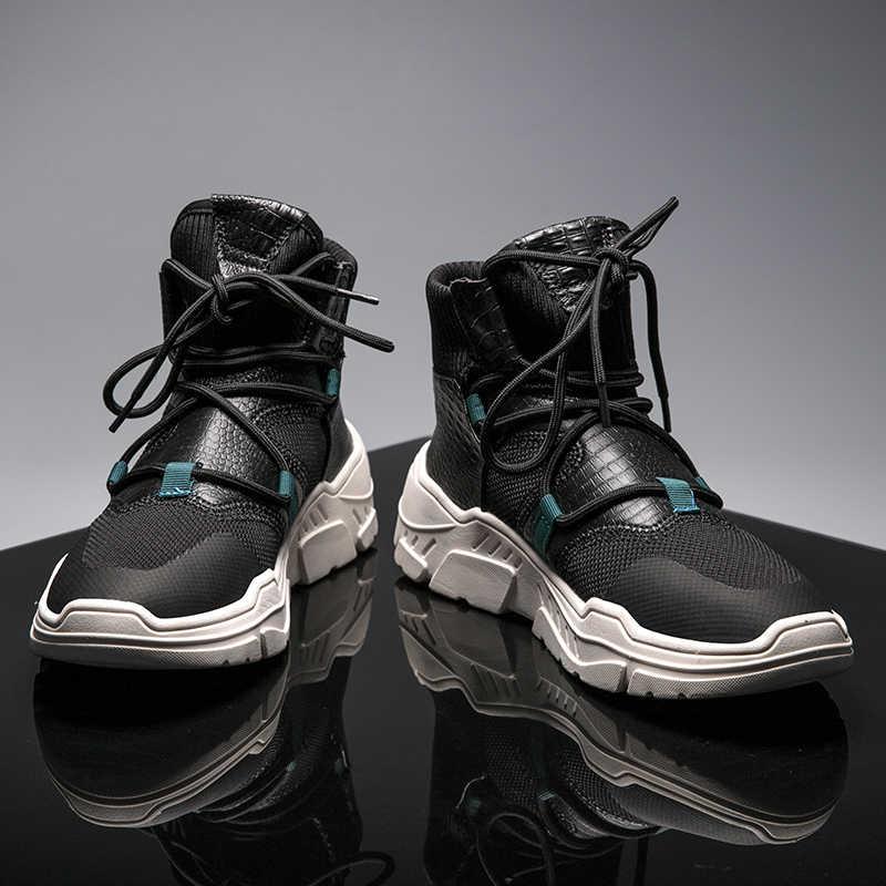 Times New Roman модные зимние Для мужчин сапоги износостойкие ботильоны ручной работы теплые рабочей загрузки на шнуровке Для мужчин повседневная обувь