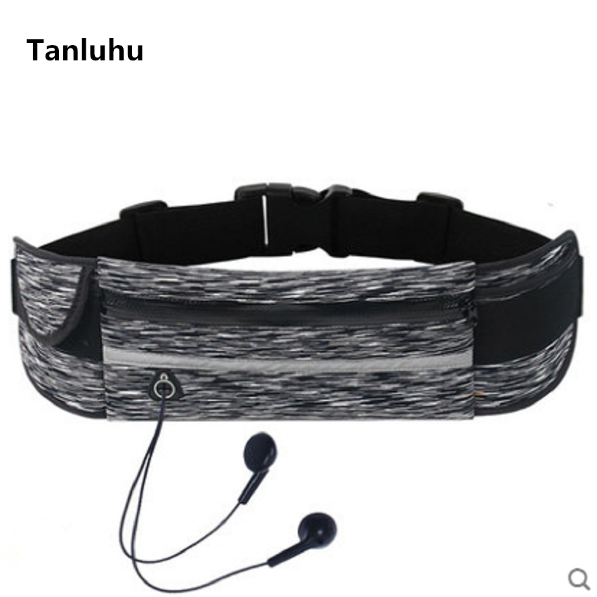Tanluhu Women Casual Waterproof Nylon Belt Bag Unisex Nice Fit Belly Bags With Phone Pouch Men Multi Functional Waist Bag & Pack