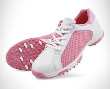 цена на PGM new summer golf shoes anti-skid breathable shoes patent women spike Sports shoes