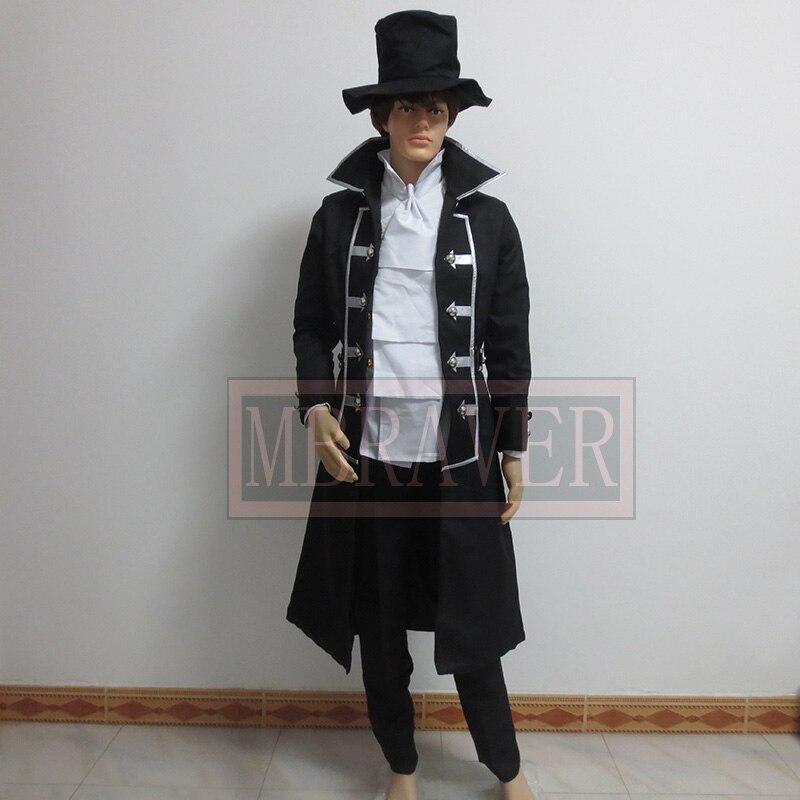 Pandora Hearts Gilbert Stain Nightray Raven cosplay costume