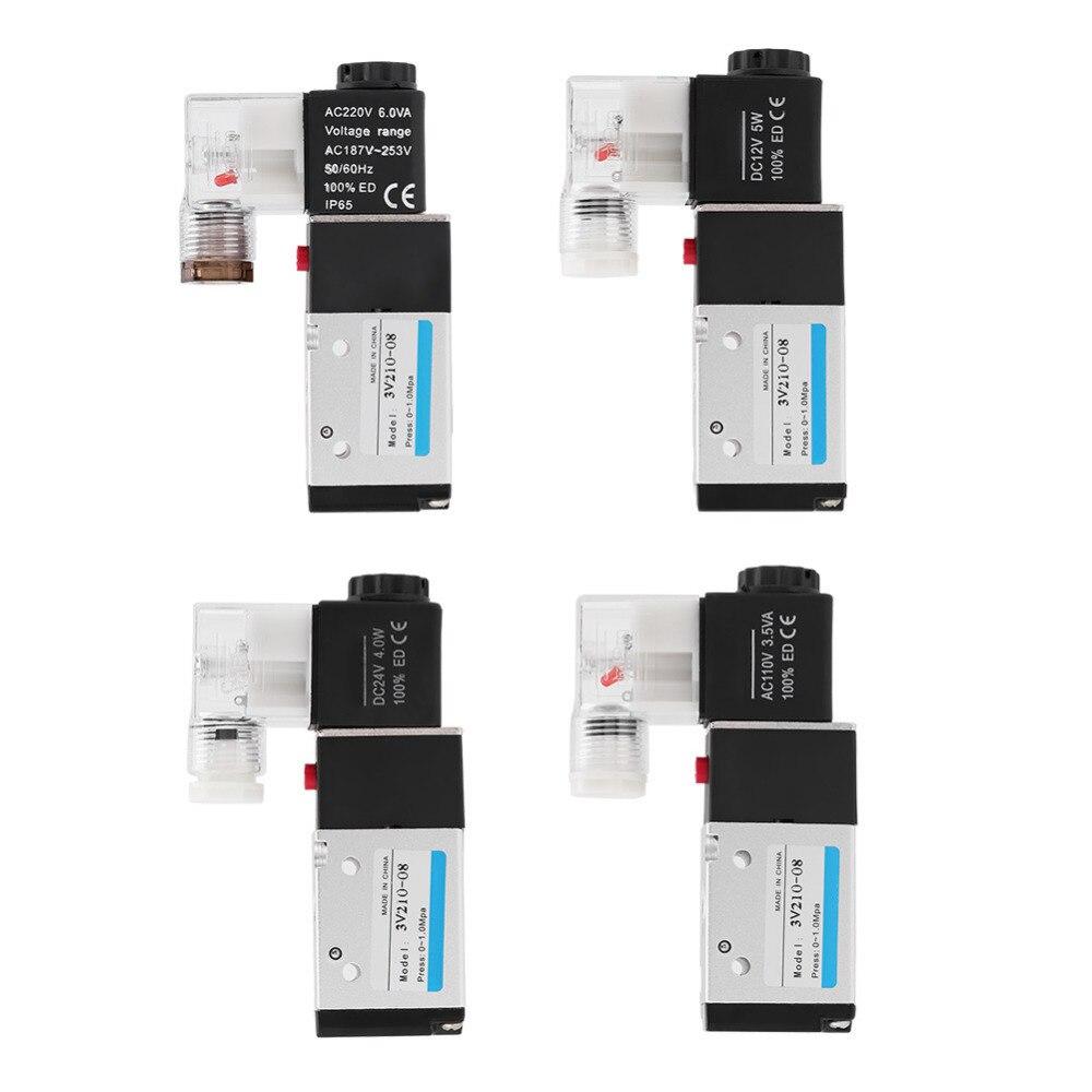 Sanitär Pneumatische Magnetventil 3-way 2-position Typ G1/4 0,15--0,8 Mpa Einfach Zu Reparieren Heimwerker