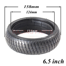 Motorbike 6.5 Inch Solid Tyre Tire for Mini Smart Self Balancing Scooter 6.5 Hoverboard Unicycle Scooter Airless Tire self balancing electric unicycle scooter black eu plug