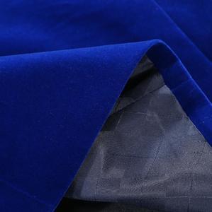 Image 5 - PYJTRL erkek sonbahar kış klasik şal yaka kraliyet mavi kadife düğün damat takım elbise ceket eğlence Blazer Masculino Slim Fit