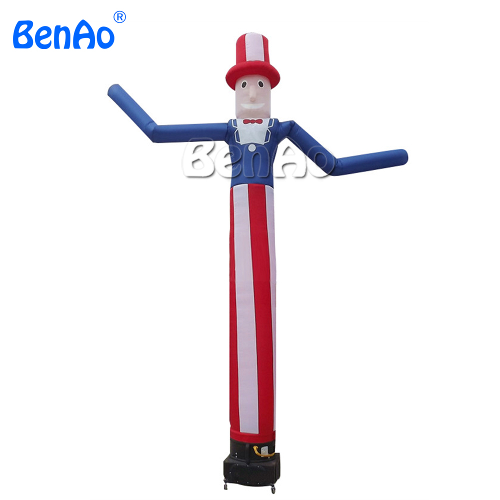 Fly Guy Oncle Gonflable Air Danseur Homme, la publicité personnalisée gonflable Air homme, En Plein Air Plus Populaire Danse Gonflable ciel tube