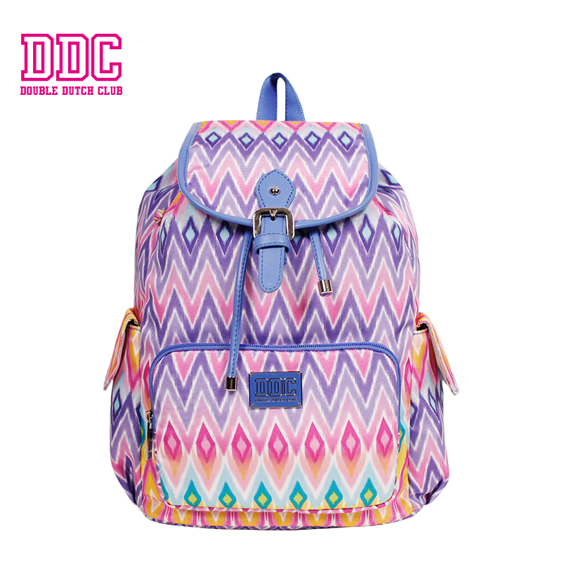 купить DDC Brand Backpack Vintage Women Backpack Casual Large Drawstring Backpack Waterproof School Backpack for Teenage Girls недорого