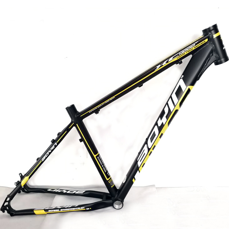 27.5inch mtb aluminum bike frame mountain bicycle frameset bicicletas mountain bike 27.5 alloy frame aluminum alloy mountain bike frame bicycle frame mtb 26 15 18inch ultra lightweight frame contains headset