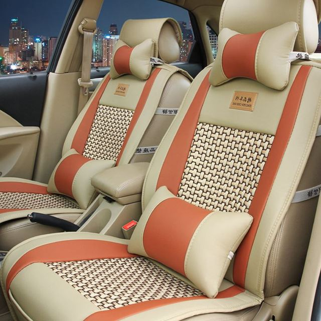 5 Seat Car Seat Cover Fit CHEVROLET Impala/Niva/SPARK/Beat