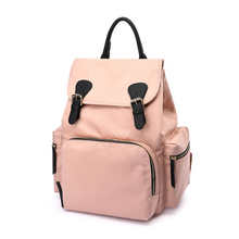2019 new fashion multi-function shoulder Mummy bag Insulation travel maternal and child package Waterproof diaper