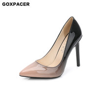 GOXPACER New Summer Slipper Plus Size Professional Heels Heat Style Hot Selling High Eeled Sandal Free Postage
