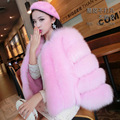 Mink Fur Coat Special Offer Fur Coat Female Vogue Of New Fund Of 2016 Autumn Winters Is Nine Points Of Sleeve Imitation Bar Fox