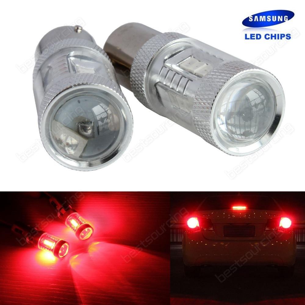 все цены на 20x Red 380 P21/5W 1157, 2357, 7528 BAY15D Bulb 15W  LED Side Indicator Tail Brake Stop Light  SAMSUNG SMD  (CA261) онлайн