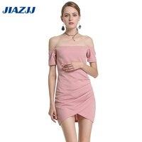 2017 yaz elbise yeni kelime yaka kollu kısa elbiseler seksi sözleşmeli ucuz giysiler çin B15
