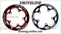 Schaltdriveline 52 T/53 T CNC schutzplatte/BCD130 fahrradkurbel gericht Straße faltrad schutzplatte/fahrradteile-in Fahrrad-Kurbel & Kettenblatt aus Sport und Unterhaltung bei