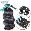 Cexxy Hair Brazilian Hair Weave Bundles Brazilian Body Wave 3 Bundles New Human Hair Weaves Unprocessed Brazilian Virgin Hair