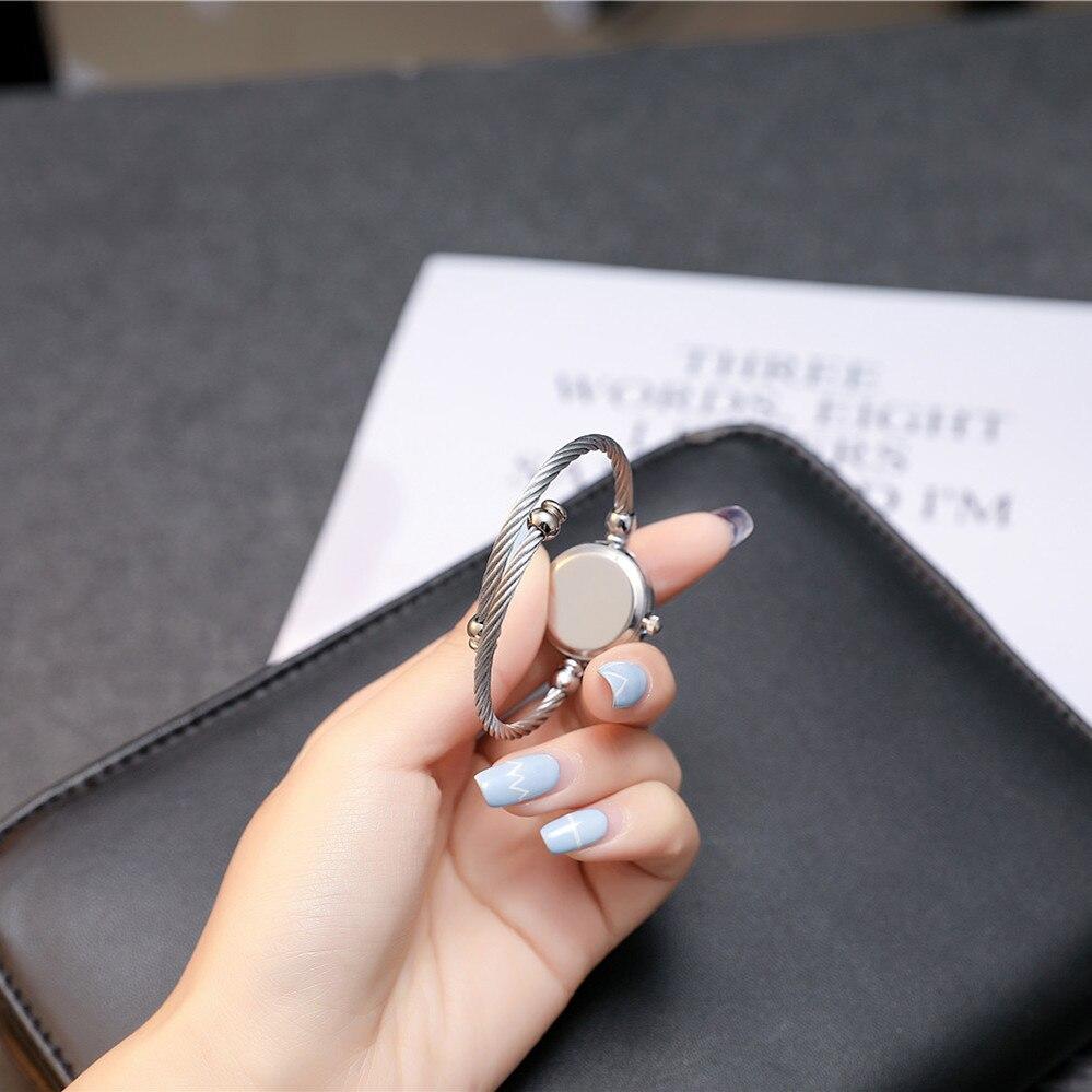 2017 BGG Top Nowa skórzana Lady Twórczy zegarek w stylu - Zegarki damskie - Zdjęcie 4