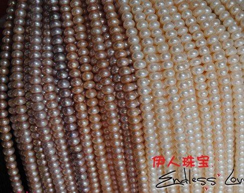 9-10 мм Ожерелье из натурального жемчуга, жемчужные нити длиной 38 см, 2 шт./лот