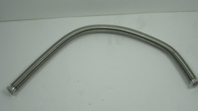 Kf flexible hose stainless steel mm vacuum
