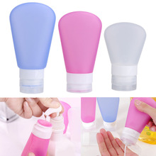 Medium 3Pcs/Set Travel Refillable Portable Empty Perfume Lotion Squeeze Bottles Scent Tube Shampoo Shower Gel Containers Tools