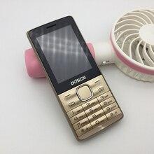 Оригинальный odcsn G3 телефон с Dual SIM Камера MP3 FM радио Bluetooth громкий динамик 2.4 дюймов дешевые мобильные телефоны