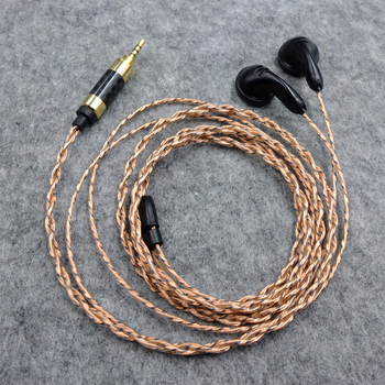 BLD Linsoul Seimbang Impedansi 150ohm Tinggi Earbud Earphone Tinggi Kesetiaan HiFi Earphone 4.4mm 2.5mm Seimbang