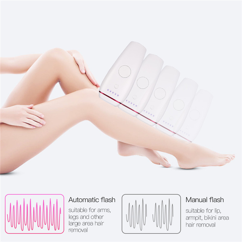 Electric IPL Epilator Unisex Permanent Leg Bikini Armpit Hair Removal Machine Painless Smooth Skin Rejuvenation Beauty Device 31 ipl connector for ipl hair removal and skin rejuvenation beauty machine