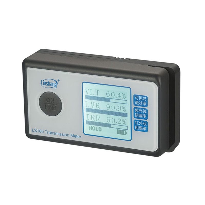 Linshang new LS160 portable transmission meter test solar film UV 950nm IR rejection Visible light transmittance free shipping ls160 solar film tester portable solar film transmission meter measure uv visible and infrared transmission values