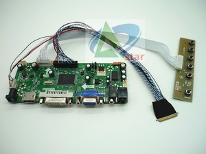 "Image 2 - Kit scheda Controller LCD AUDIO HDMI DVI VGA per 17.3 ""N173O6 L02 B173RW01 1600*900 kit controller LCD per laptop 40 aghi"